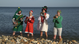 Christmas in the sea