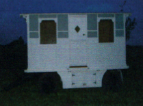 2 berth wagon with stove