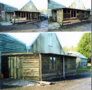 Woodworking shed