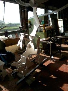 sun on chairs